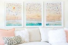 Decor Spotlights / Come inside homes featuring Gray's photography