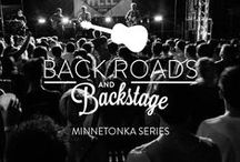 Back Roads & Backstage / Discover new music to love. Go Back Roads & Backstage with us as we accompany a few of our favorite musicians on tour as they navigate the back roads of America and provide a backstage glimpse of life on the road. / by Minnetonka Moccasin