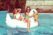 Inflatable Pool Floats! / Get Wet: The Ultimate Summer Guide to Inflatable Pool Floats  / by KNSTRCT