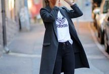 take it to the streets / street style: urban edge meets classic chic