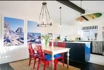 Kitchens / Clean, dreamy kitchens perfect for entertainers and chefs alike.