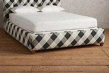 PLAID Furniture & Home Decor / Plaid furniture and home decor.