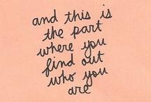 words / by Stephanie Gibson
