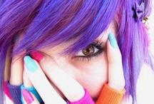 Crayola colored hair / by Stephanie Gibson