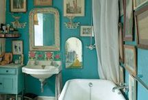 Homes // Bathroom & Kitchen / Ideas for the bathroom and the kitchen