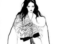 Fashion Illustrations & Inspiration / by Michal Stern