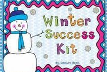 January / Lessons, activities, and everything fun for the month of January in the classroom.  MLK, Winter, New Year's, Resolutions, snow and sleds / by Kreative In Kinder