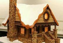 ginger bread houses / by T Lemon