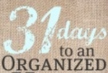 Cleaning and Organizing / by Jen Crittenden