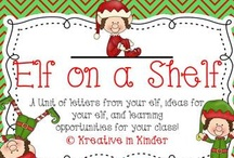 Elf on the shelf / by Kreative In Kinder