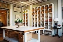 Office / craft room / by T Lemon