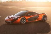 McLaren P1 / The McLaren P1 is a forthcoming plug-in hybrid supercar by English automotive manufacturer McLaren Automotive. The concept car debuted at the 2012 Paris Motor Show., and is considered to be the long-awaited McLaren F1 successor utilizing hybrid power and Formula 1 technology. The P1's styling is influenced by the McLaren MP4-12C but with added body panels to make the car look aggressive.