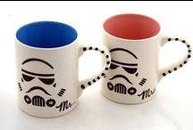 DIY。Mug / by Tracy Man