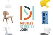 L'univers Meubles & Design // Meubles & Design's universe / Retrouvez dans ce tableau un aperçu de notre gamme de produits.