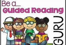Guided Reading / Guided Reading in the kindergarten classroom-what it looks like, how to manage it, and how to teach every child / by Kreative In Kinder