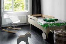Inspiration Chambre d'Enfants / Inspirations pour de jolies chambres d'enfants composées de produits d'inspiration de grands designers en vente chez Meubles & Design
