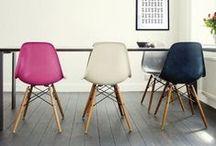 La DSW - dans tous ses états / La chaise DSW de Eames est l'incontournable du design. Nous en proposons une reproduction qualitative dans différents coloris et matières. http://www.meublesetdesign.com/search?q=DSW