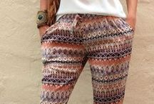 #PatternedPantalons / Inspiration for Pants with Prints!
