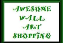 Awesome Wall Art Shopping / Here you will find all kinds of wall art. From framed art to posters to wall decal's and more.  If your product does not have to do with this subject it will be deleted. This is a community board of designers that sells products on POD sites only. If you would like to be added to this board please send me a message. All shoppers welcome be sure to check out all our other community boards as well.
