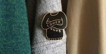 Pin Game! / Gorgeous enamel lapel pins by creatives and makers
