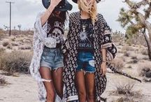 #BohoChic / Festival wear is about expressing your style to the fullest and experimenting with funky, yet comfy style. Whether it's a music festival or community event, bring out the suede, tassels and eccentric accessories and embrace #BohoChic.
