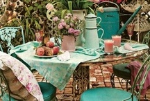OUTDOOR : deck and dock decor  / by Rosanne Butler