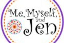 Me, Myself and Jen / Everything that has to do with my blog and campaigns I'm working on!
