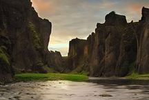 Land of the Vikings / The beautiful country of Iceland.