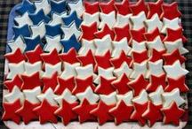 Fourth of July / Independence Day / Fun crafts / food / decorating ideas for the 4th of July!