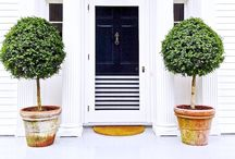 beautiful | DOORS / Beautiful doors and front entry to the house.