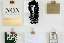 the creative | OFFICE / Office inspiration.  Office space.