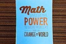 Middle School Math / A compilation of ideas to make math count for your middle-school students.  / by Teach For America