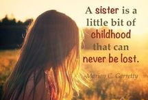 Quotes: Loss of Sister / Popular quotes on the loss of a sister by famous authors, celebrities, and newsmakers. Pin a quote that provides you with comfort or inspiration in your time of need.