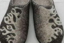 FELT ◇ slippers - shoes - boots