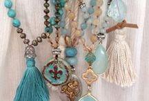Jewelry and Bijoux handmade... / Jewelry , Bijoux, in crochet, wood and metal...