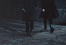 Dark & Black men outfits (No Ninjas & No Nazguls)