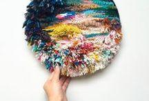 Cathy McMurray weavings
