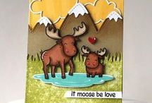 Cute Critters of Lawn Fawn / Cards and projects featuring all the adorable Critters in Lawn Fawn Land.