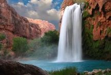 WATERFALLS / by Myrtle Philbeck