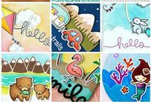 Lawn Fawn New Release / Lawn Fawn introduces our brand new stamp sets and crafting products!