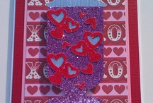 Valentine's Day Cards / Here are some Valentine's Day cards I create if you want to see me put them together go to my YOU TUBE Channel SPYROROCKS346 / by Gloria Dasher