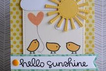 Hello Sunshine by Lawn Fawn / Cards and Projects using the Hello Sunshine Collection: Stamps, papers, flair and sequins / by Lawn Fawn