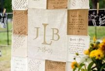 WEDDING :: guestbook ideas / by Jeanine Linder