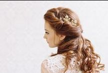 WEDDING :: hairstyles / by Jeanine Linder