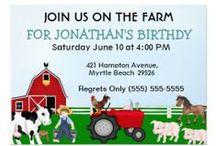 Customizable Birthday Invitations