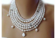Pearl Necklace / Bridal Pearl Necklaces, Wedding Jewelleries