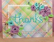 Thank You with Lawn Fawn