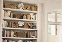 In the Library / Glamorous places to hold books and cozy places to read them.  Everyone needs a spot. / by Joy Siegel