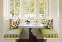Dine here / beautiful places to sit and have a meal or great conversation / by Joy Siegel