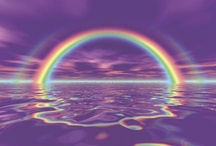 ♥Rainbowsあ / *⋆..⁀*ღ,‿☼°⁀❤♡°*⋆..  / by ♥Jan Van Dyke